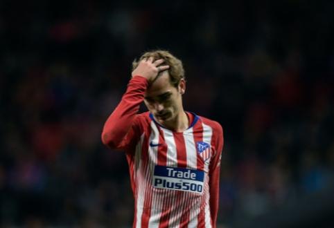 """""""Mundo Deportivo"""": A. Griezmannas dėl """"Barcos"""" sutiktų susimažinti atlygimą"""