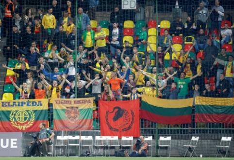 Prasti rezultatai sirgalių neatbaidė: Lietuvos rinktinę Liuksemburge palaikys šimtas aistruolių