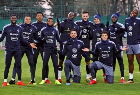 P. Pogba savo komandos draugus Prancūzijos rinktinėje apdovanojo čempionų žiedais