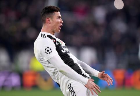 """""""Atletico"""" prašo nubausti Turine sirgalius provokavusį C. Ronaldo"""