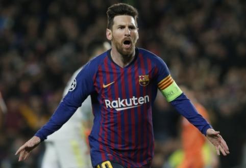 L. Messi prieš Čempionų lygos ketvirtfinalio burtus išskyrė tris varžovus