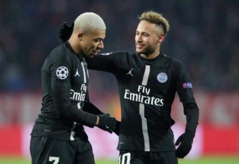 J. Draxleris tikisi, kad Neymaras ir K. Mbappe liks PSG gretose