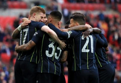 """""""Man City"""" prasibrovė į FA taurės finalą"""