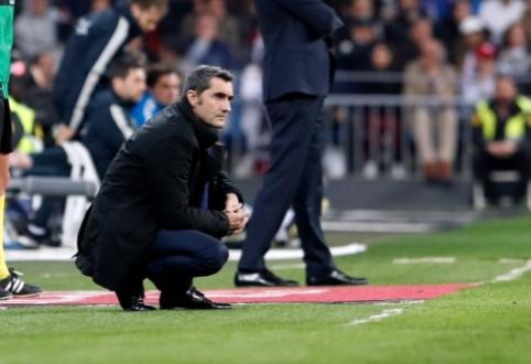 Kiti šaltiniai: E. Valverdei suteiktas antras šansas