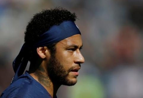 """""""Real"""" ekipa liepė Neymarui garsiai išreikšti savo nuomonę"""