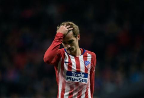 """Oficialu: A. Griezmannas pasiprašė būti parduotas """"Atletico"""" klubo"""