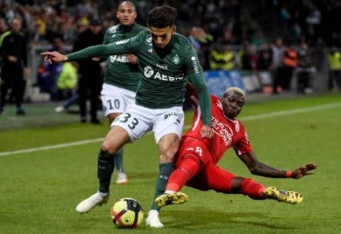 """Ligue 1"": emocingame mače ""Montpellier"" nukovė ""Saint-Etienne"""