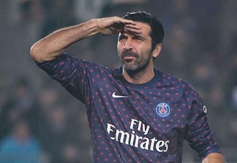 G.Buffono ateitį PSG ekipoje apgaubė migla