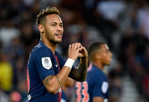 """""""Ligue 1"""": Neymaras padėjo išvengti PSG dar vieno fiasko"""
