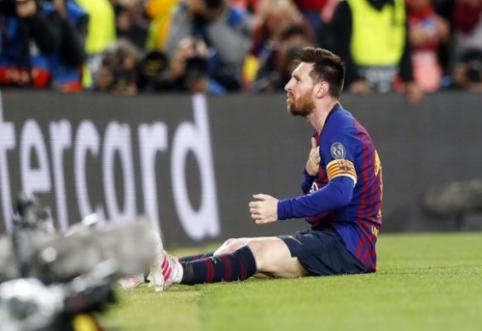 """""""Liverpool"""" fanai surašė peticiją dėl L. Messi veiksmų"""