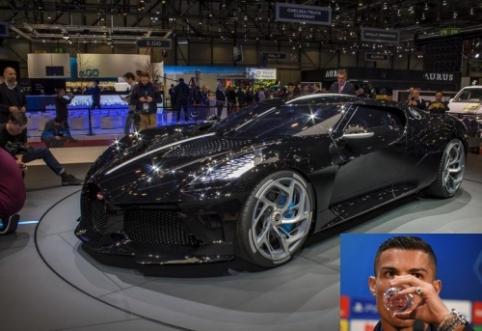 POP: C. Ronaldo įsigijo brangiausią pasaulyje automobilį