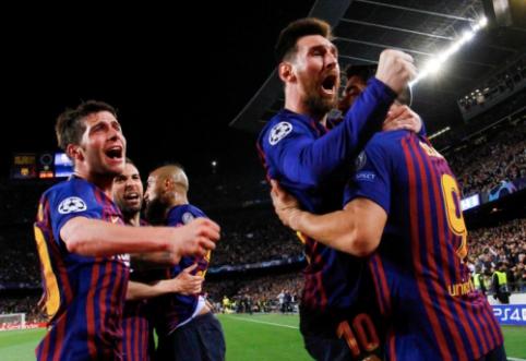 """""""Liverpool"""" Čempionų lygos pusfinalyje pajuto L. Messi magiją"""