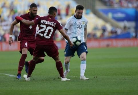 """L. Messi: """"Tai nėra geriausias """"Copa America"""" turnyras, kurį esu žaidęs"""""""