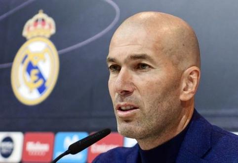 Z.Zidane'as beveik baigė ekipos stiprinimą