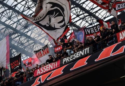 """TAS dėl finansinių pažeidimų uždraudė """"Milan"""" komandai varžytis Europos lygoje"""