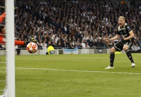 """Ajax"" už D. van de Beeką užsiprašė 65 mln. eurų"
