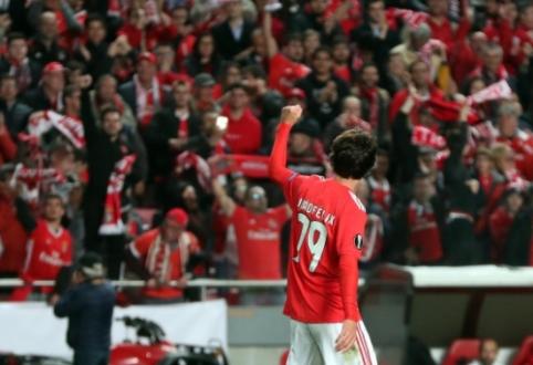 """""""Benfica"""" patvirtino, kad """"Atletico"""" už rekordinę sumą perka J. Felixą"""