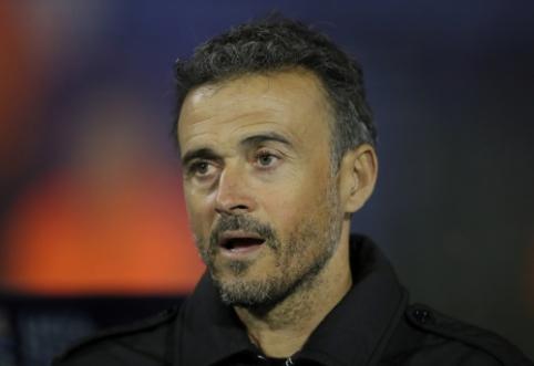 Oficialu: L. Enrique dėl asmeninių priežasčių palieka Ispanijos rinktinę