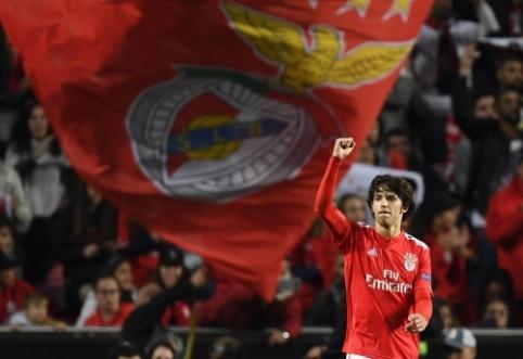 """""""Atletico"""" pasiruošęs suploti rekordinę sumą už """"Benfica"""" žvaigždę"""