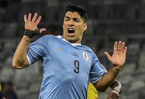 """""""Copa America"""" - įspūdingas Urugvajaus startas"""