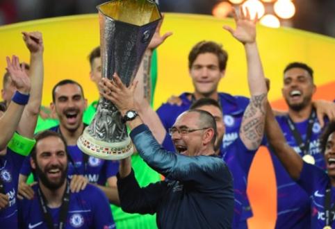 """Oficialu: M. Sarri išvyksta į """"Juventus"""""""
