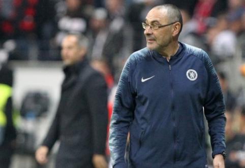 """Patikimi šaltiniai: """"Chelsea"""" ir """"Juventus"""" susitarė dėl M. Sarri perleidimo"""