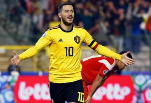 """P. Guardiola: """"Hazardas yra vienas geriausių futbolininkų, kuriuos esu matęs"""""""