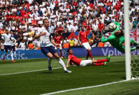 Anglija po 11 metrų baudinių serijos užėmė trečią vietą Tautų lygoje
