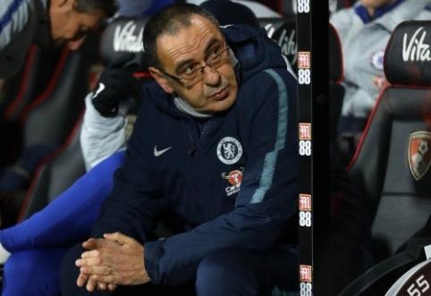 """M. Sarri su """"Juventus"""" susitarė dėl trejų metų kontrakto"""