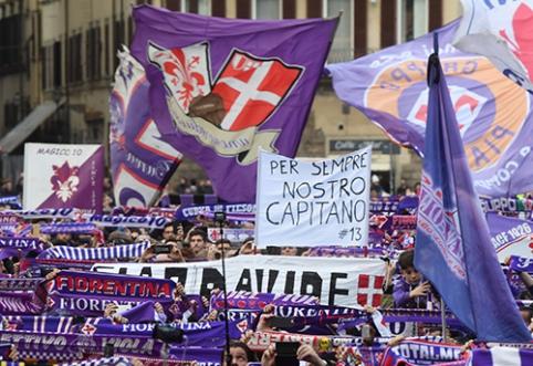 """""""Fiorentina"""" ekipą perims milijardierius"""
