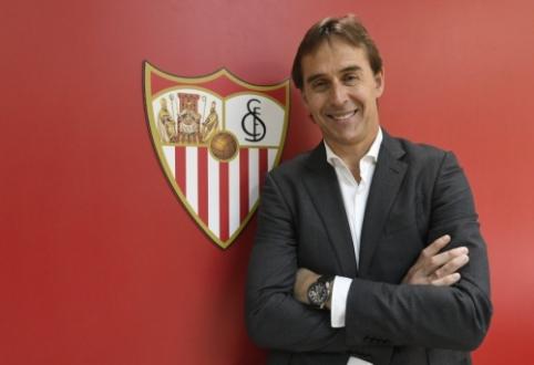 "Oficialu: ""Sevilla"" ekipai kitą sezoną diriguos J. Lopetegui"