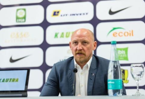 Po fiasko Europos lygos atrankoje - A.Skarbaliaus pasitraukimas