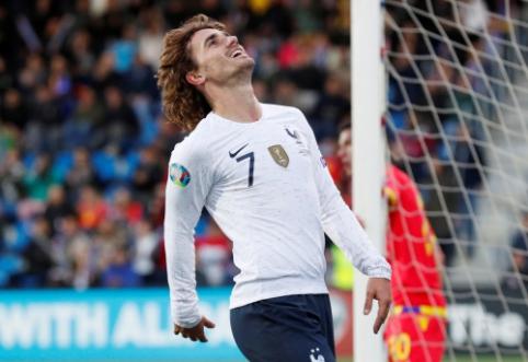 """""""L'Equipe"""": """"Barcelona"""" sumokėjo A. Griezmanno išpirkos sumą"""