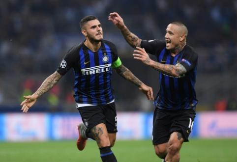 """""""Inter"""": """"Icardi ir Nainggolanas nėra mūsų planuose"""""""