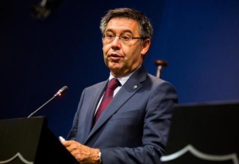 """""""Barcelona"""" prezidentas – apie galimybes įsigyti Neymarą ir susitikimą dėl A. Griezmanno"""