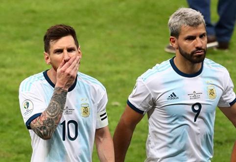 Supykęs L.Messi užsipuolė teisėjus: nebuvome prastesni už brazilus