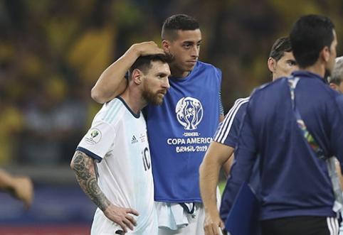 """""""Copa America"""": L.Messi svajonę iškovoti trofėjų sužlugdė brazilai"""