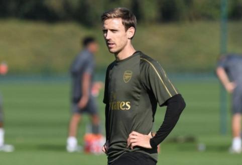 "Oficialu: N. Monrealis palieka ""Arsenal"""
