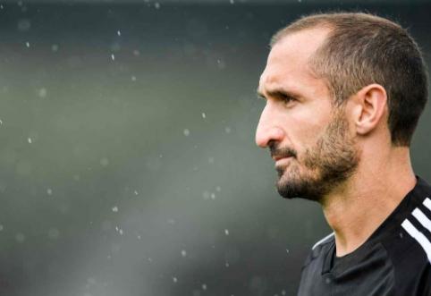 """Smūgis """"Juventus"""" ekipai: G. Chiellini patyrė kryžminių kelio raiščių traumą"""