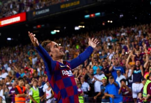 """Barcelona"" su A. Griezmannu priešakyje pasismagino prieš ""Real Betis"""