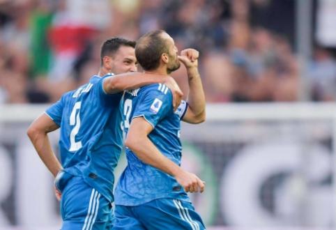 """Serie A"" starte - minimali ""Juventus"" pergalė"