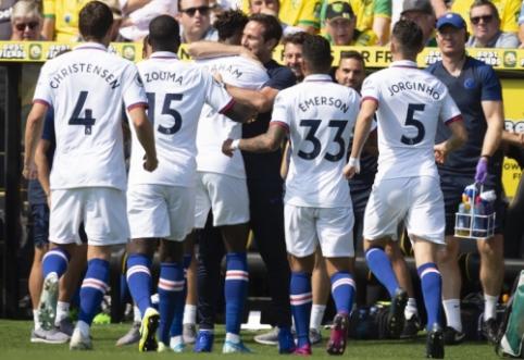 """""""Chelsea"""" po permainingos kovos pasiekė pirmąją pergalę šiame sezone"""
