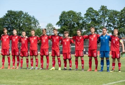 U-17 rinktinė rungsis tarptautiniame turnyre Ukrainoje