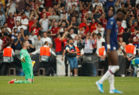 """""""Liverpool"""" po 11 m. baudinių serijos triumfavo UEFA Supertaurėje"""