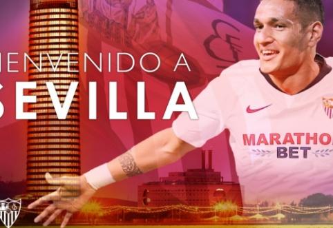 """Oficialu: """"Sevilla"""" stiprinasi atakuojančiu """"Monaco"""" saugu"""