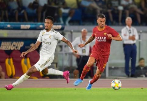"""""""Roma"""" ir """"Real"""" dvikovoje – keturi įvarčiai"""