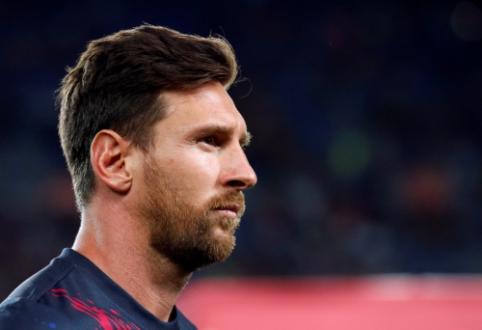 """E. Valverde: """"Sunku tikėtis, kad Messi žais prieš """"Athletic"""""""