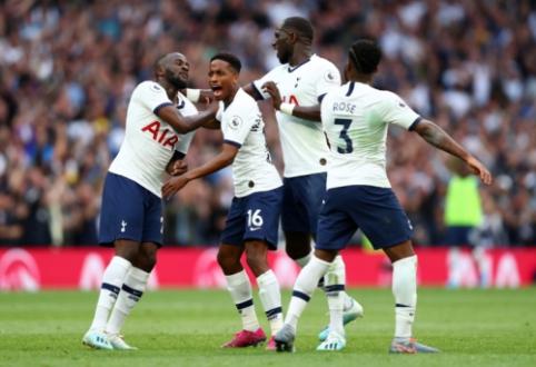 """""""Tottenham"""" rungtynių pabaigoje palaužė """"Aston Villą"""""""