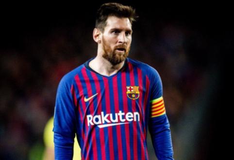 """L. Messi: """"Šį sezoną vėl kausimės dėl visų trofėjų"""""""