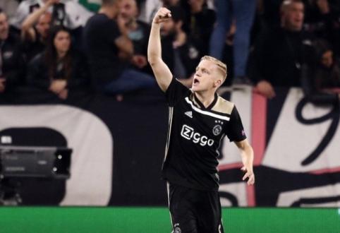 """Madrido """"Real"""" ruošia pasiūlymą už D. van de Beeką"""